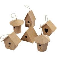 BIRD-HOUSE-PAPER-MACHE