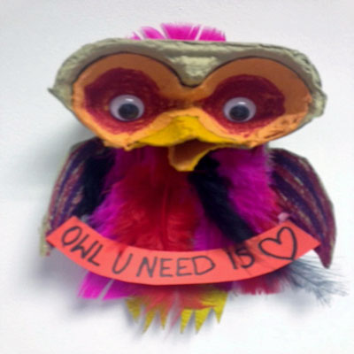 'OWL YOU NEED IS LOVE'