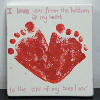 LOVEHEART FOOTPRINTS