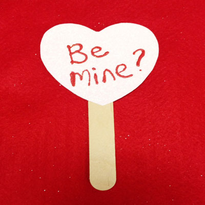 BE MINE BOOKMARK