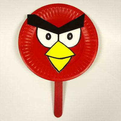 \u0027ANGRY\u0027 BIRD. \u0027 & paper plate Archives - Play Resource