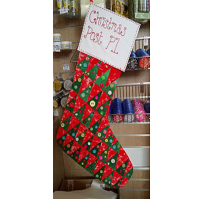 GIANT CHRISTMAS STOCKING