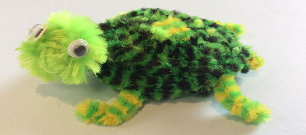 PIPECLEANER TURTLE