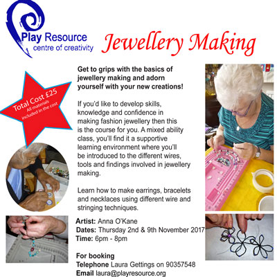 JEWELLERY MAKING TRAINING