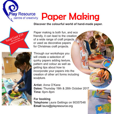 PAPER MAKING TRAINING 2017