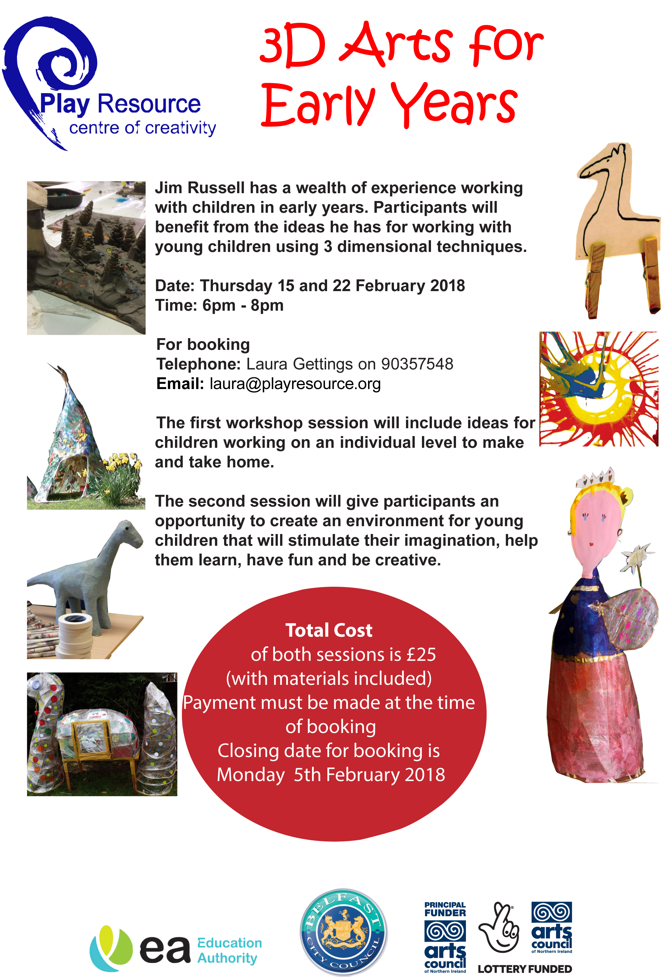 3D Arts for Early Years l 2018
