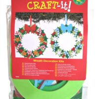 Funky Foam Wreath