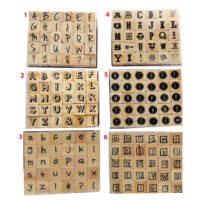 Blocks of Letter Stampers with Numbers