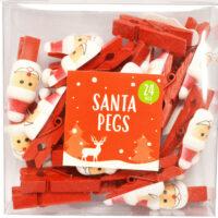 Santa Pegs
