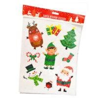 Santa Window stickers